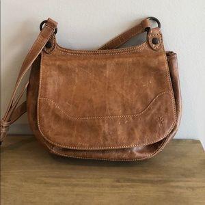Frye Melissa saddle leather Crossbody bag